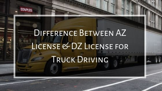 AZ and DZ license