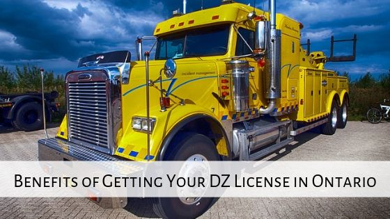 DZ License in Ontario