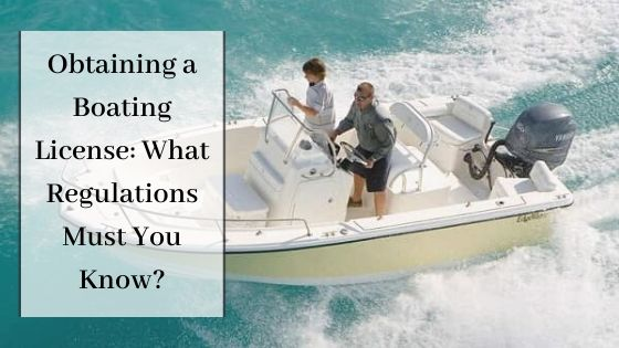 Obtaining a Boating License
