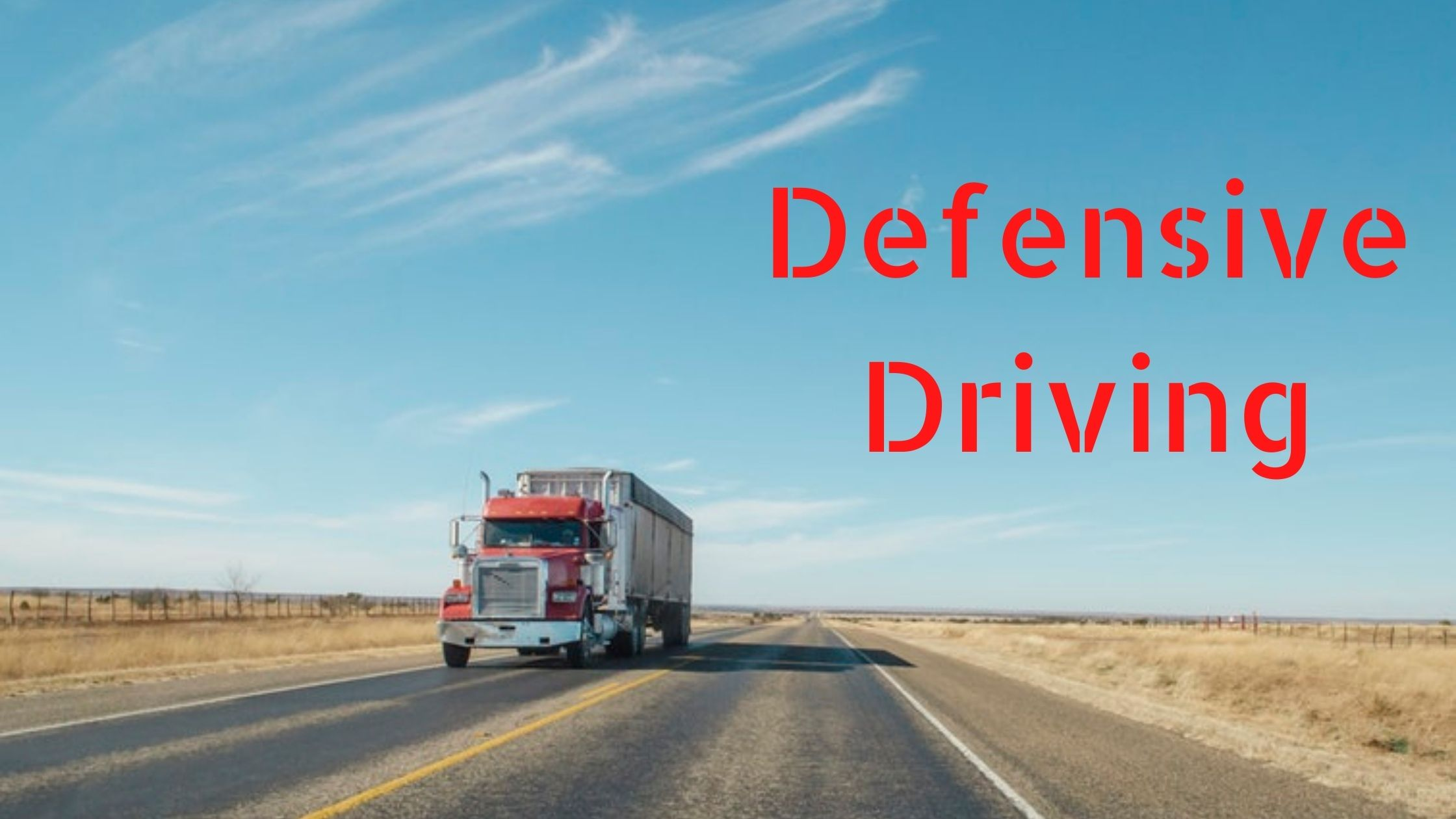 Truck Driving Lessons